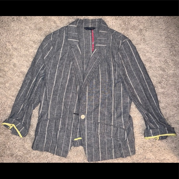American Eagle Outfitters Jackets & Blazers - Gray Blazer